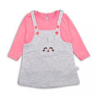 Бебешка роклича с блузка Зайче