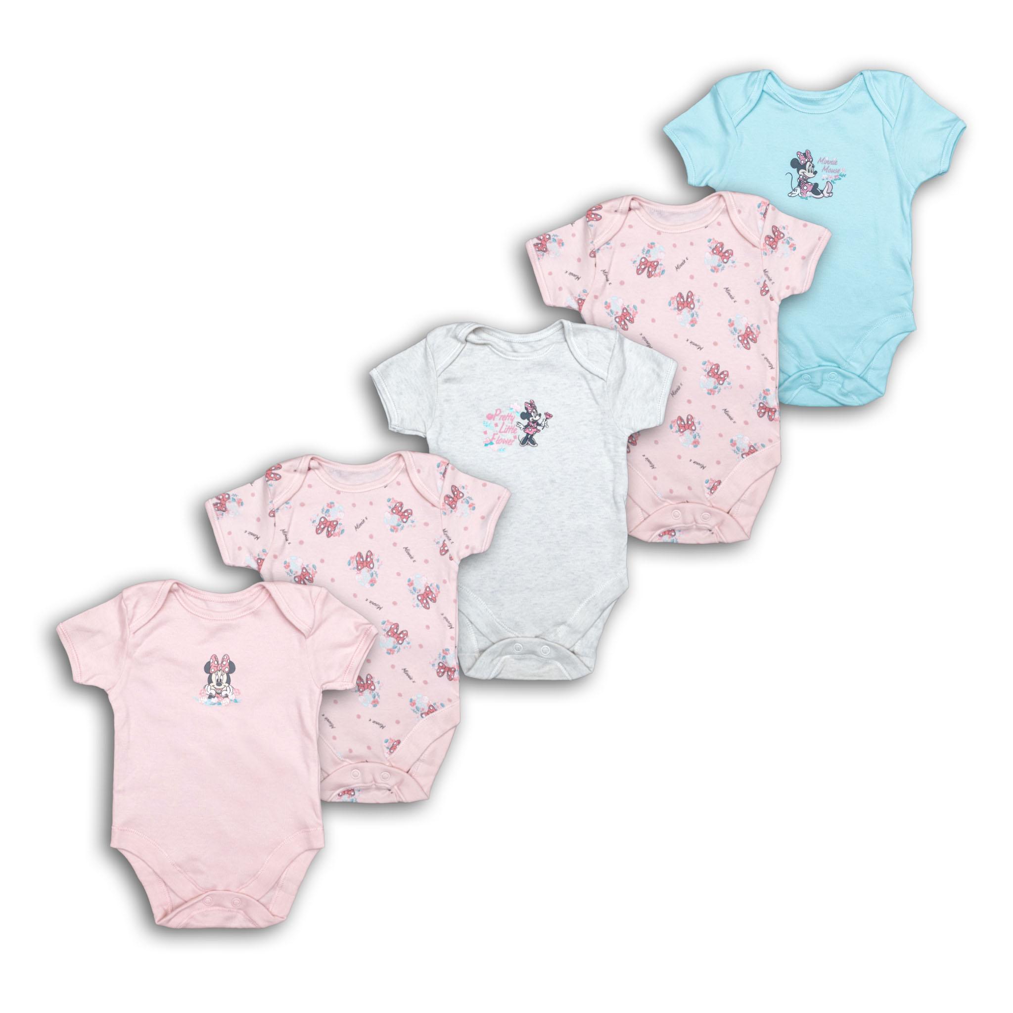 Бебешки бодита Мини Маус 5бр.