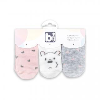 Бебешки чорапки Мечо 3бр.