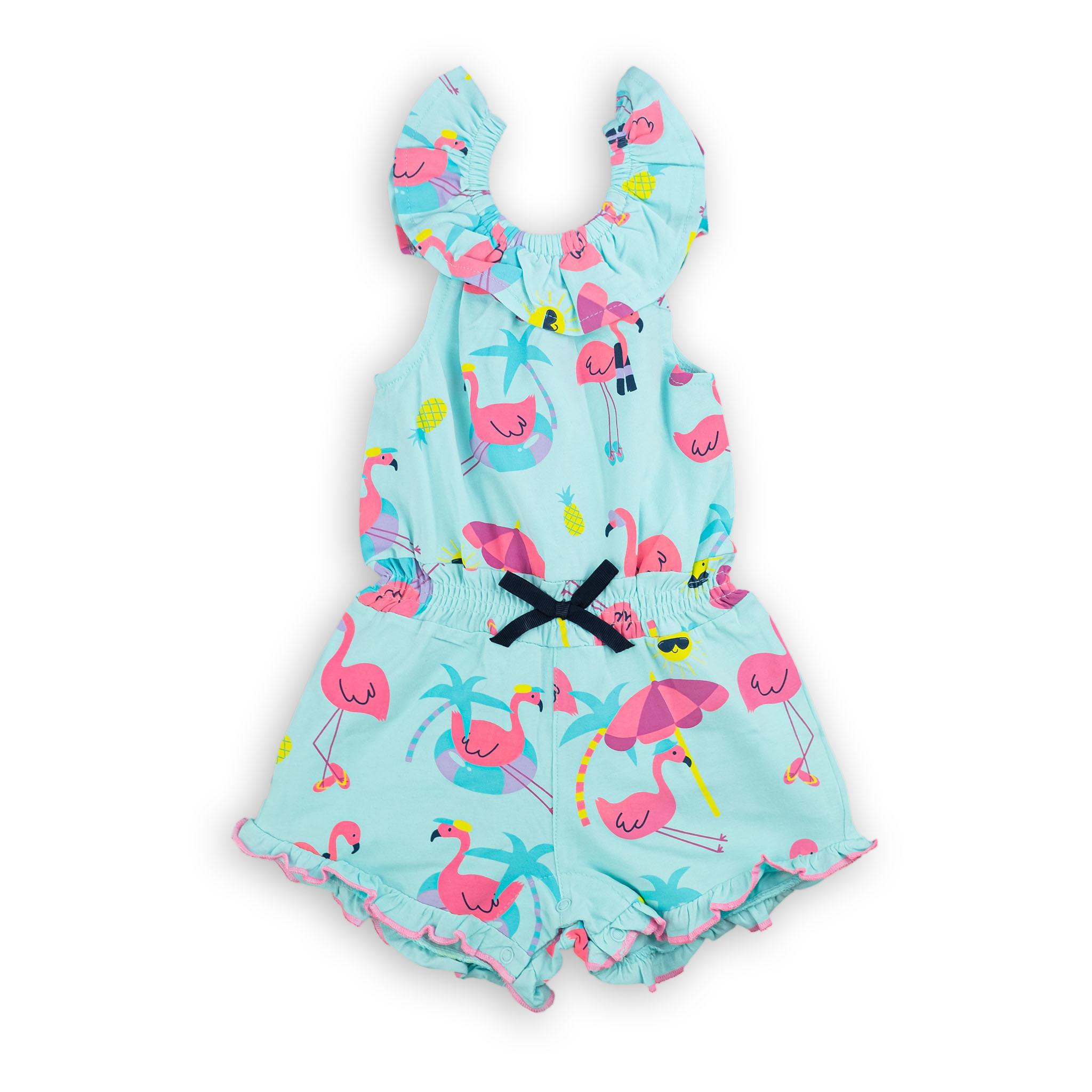 Бебешки гащеризон Фламинго