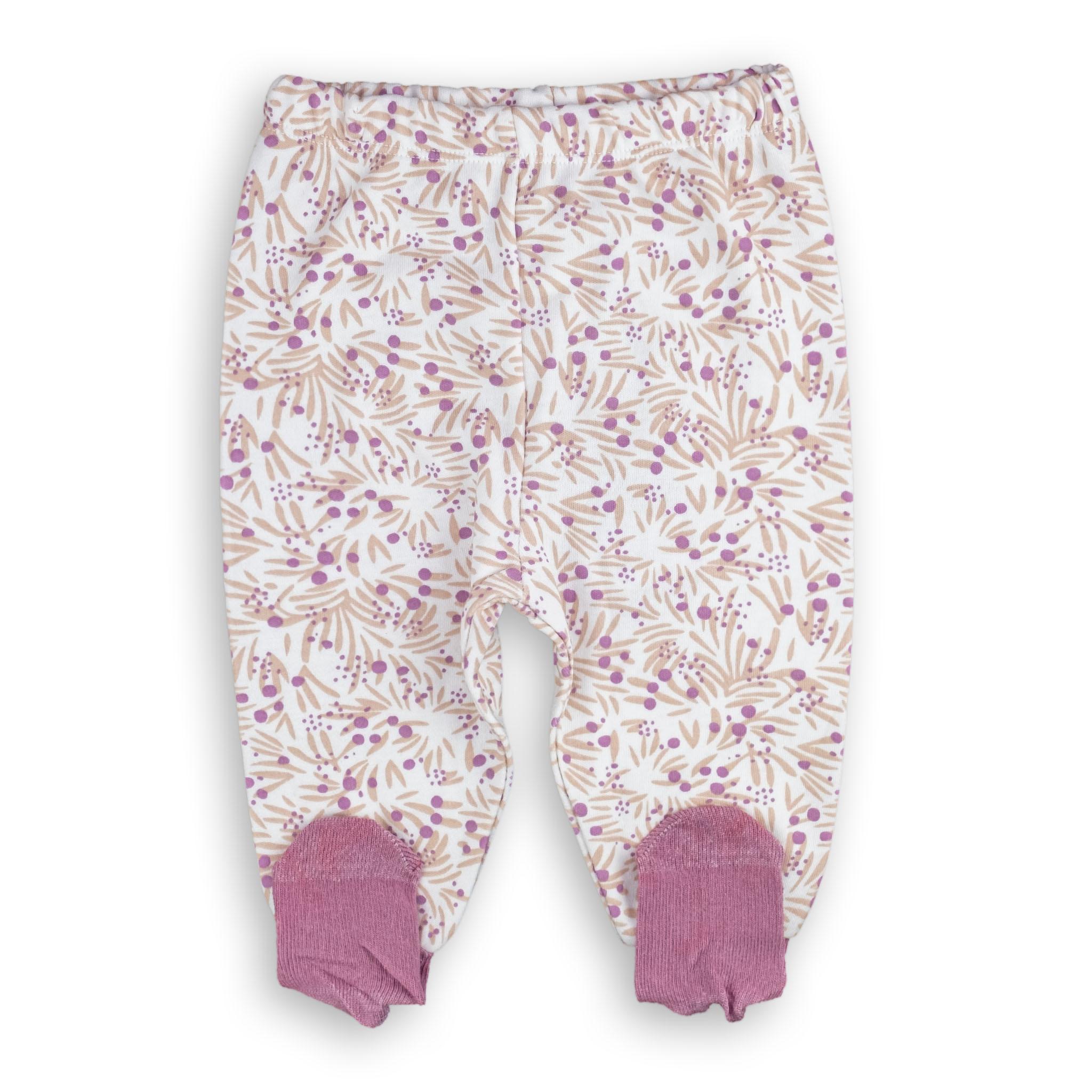 """Бебешки ританки """"Цветя"""" 100% памук"""
