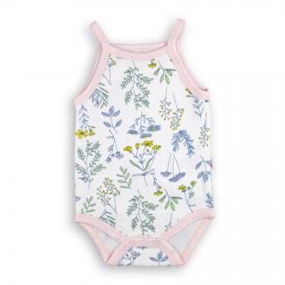 """Бебешко боди """"Флори"""" 100% памук"""