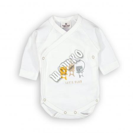 Бебешко боди Приятели 100% органичен памук