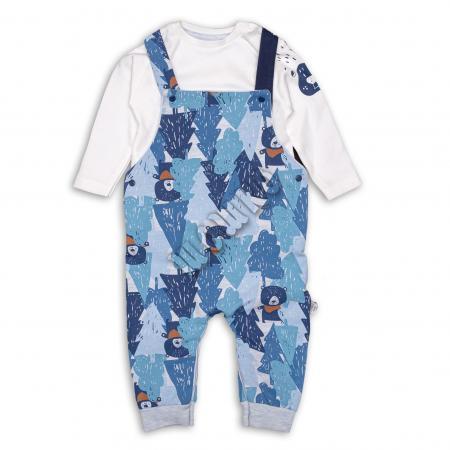 Бебешко гащеризонче с блузка 100% памук