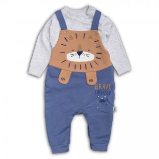 Бебешко гащеризонче с блузка Лъвчо 100% памук