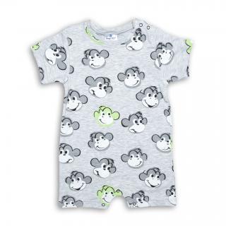 Бебешко лятно гащеризонче Маймунки
