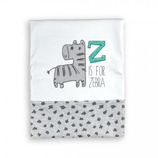 """Бебешко одеалце """"Зебра"""" 100% памук"""