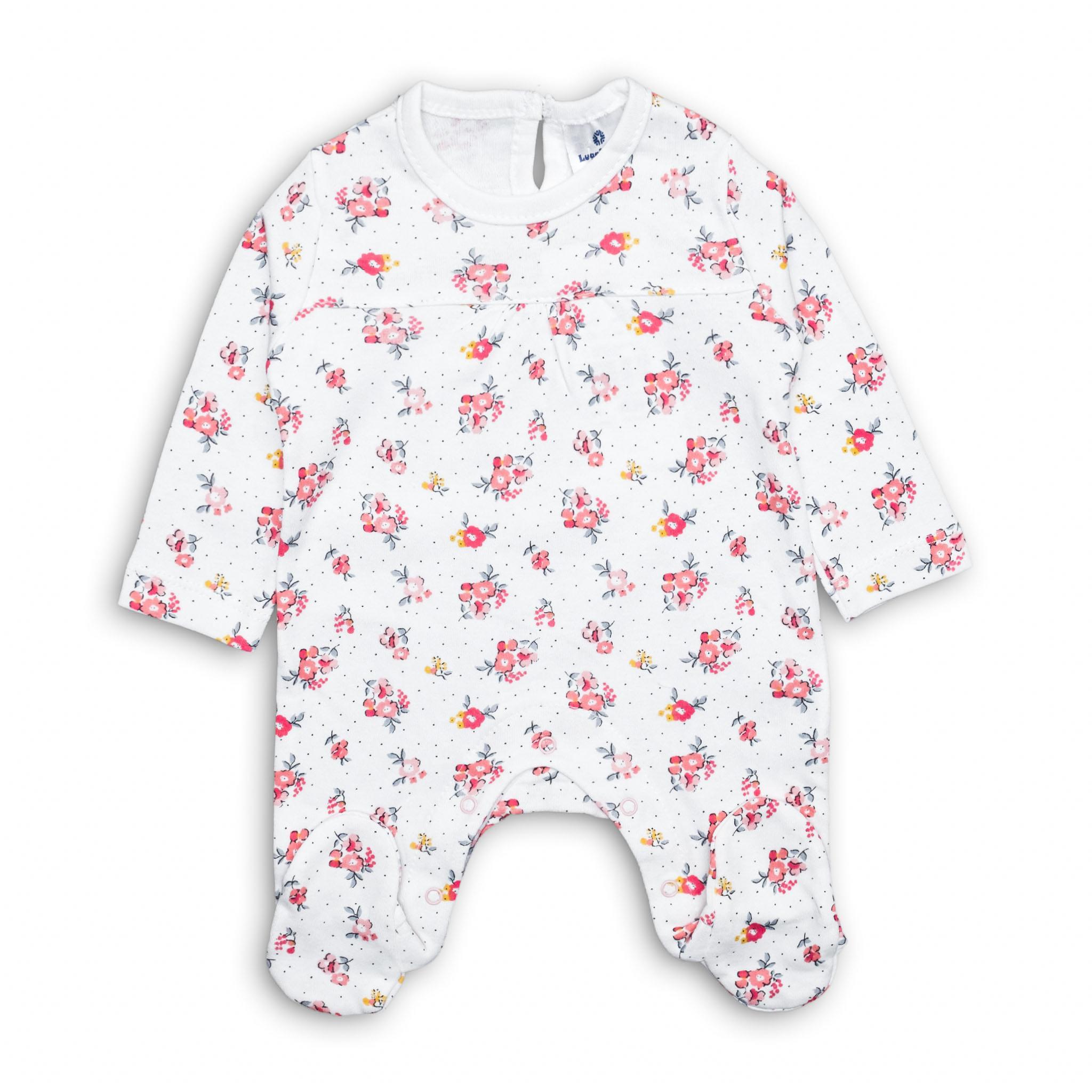 Бебешко ромпърче Цветчета