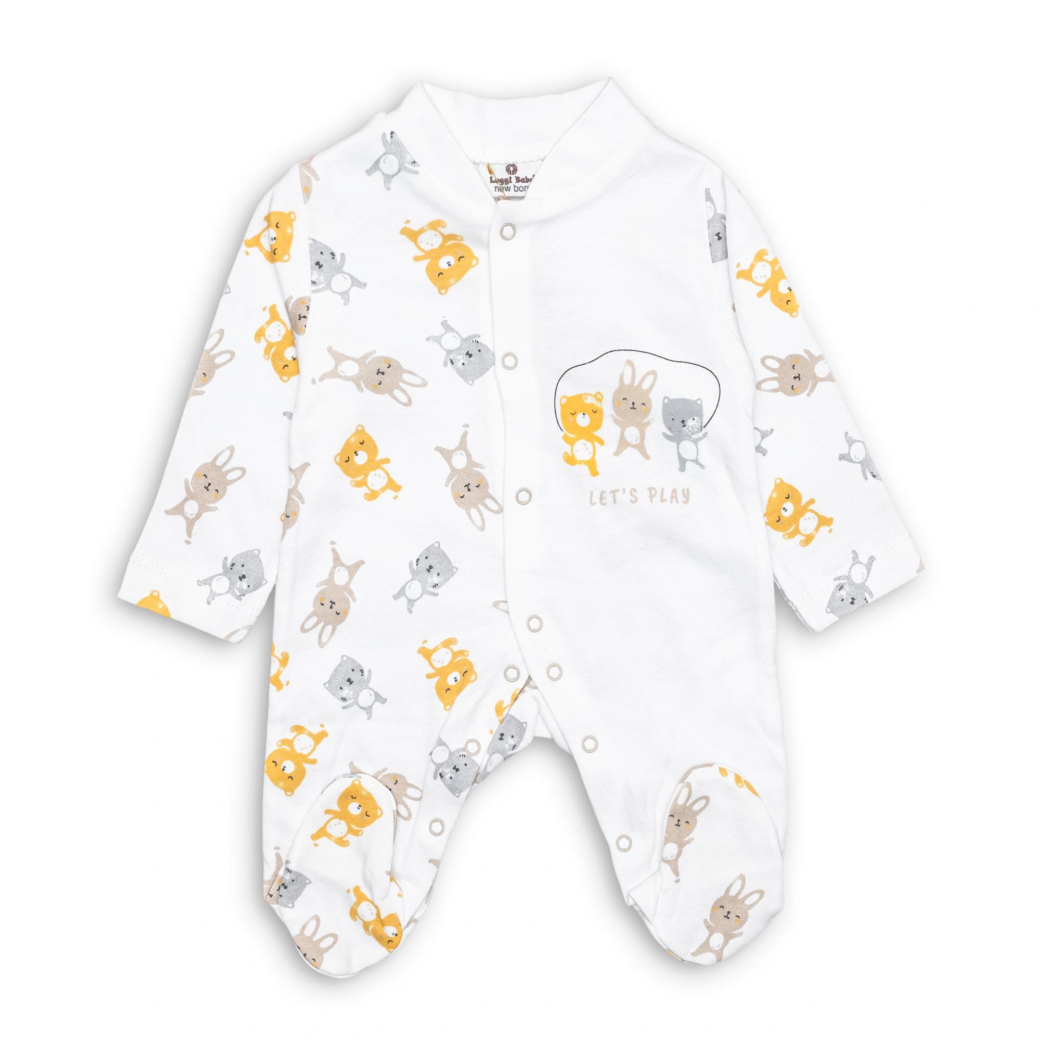 Бебешко ромпърче Зайче 100% Органичен памук