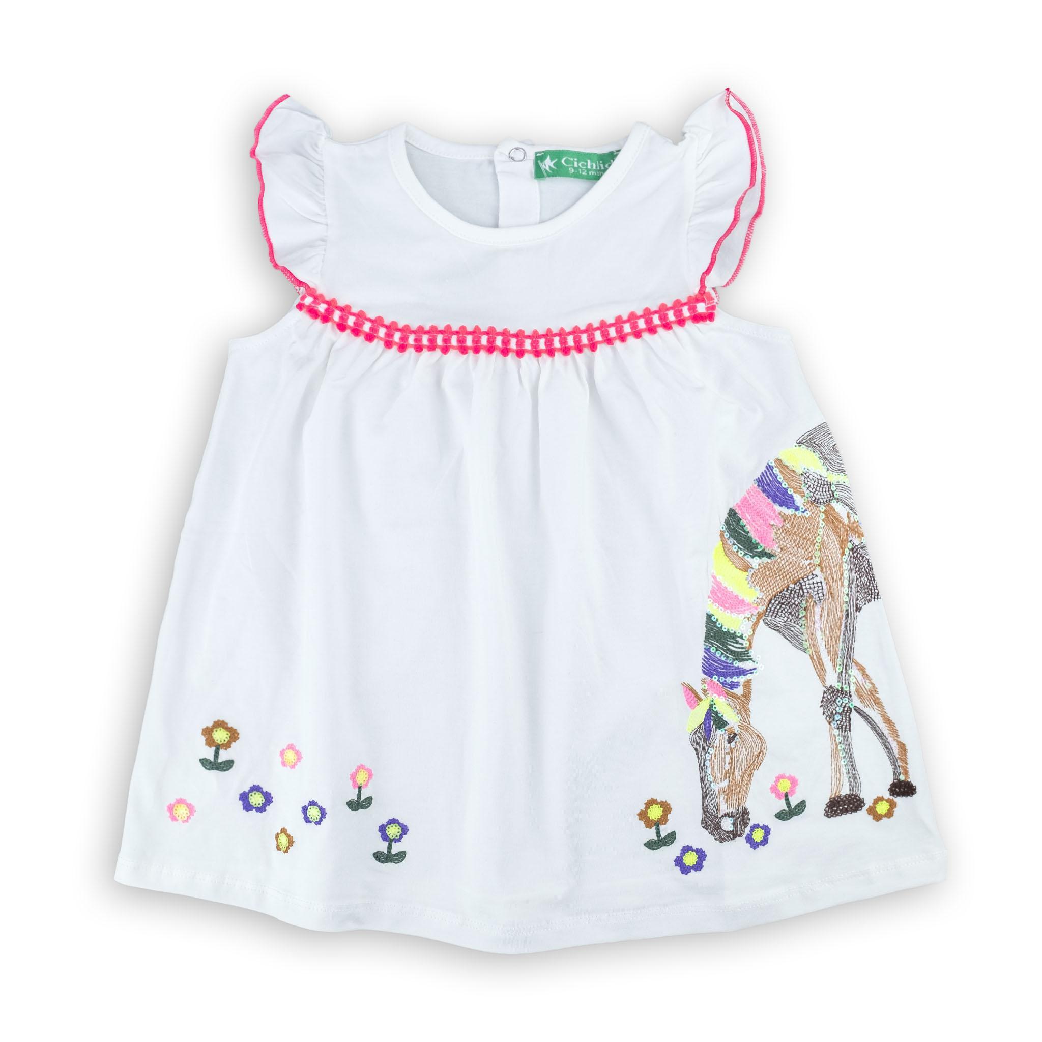 Кокетна бебешка рокличка