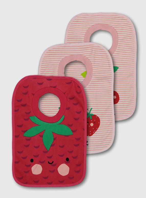 """Памучни лигавници """"Strawberry"""""""