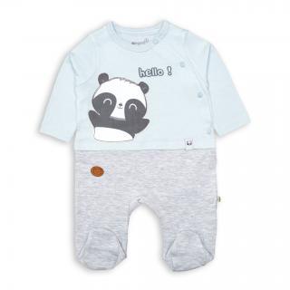 """Ромпърче """"Панда"""" 100% Био органичен памук"""